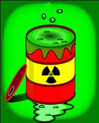 a cartoon toxic barral