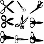Pet grooming scissors