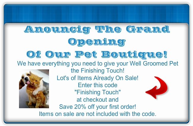 The Finishing Touch Pet Boutique Grand Opening